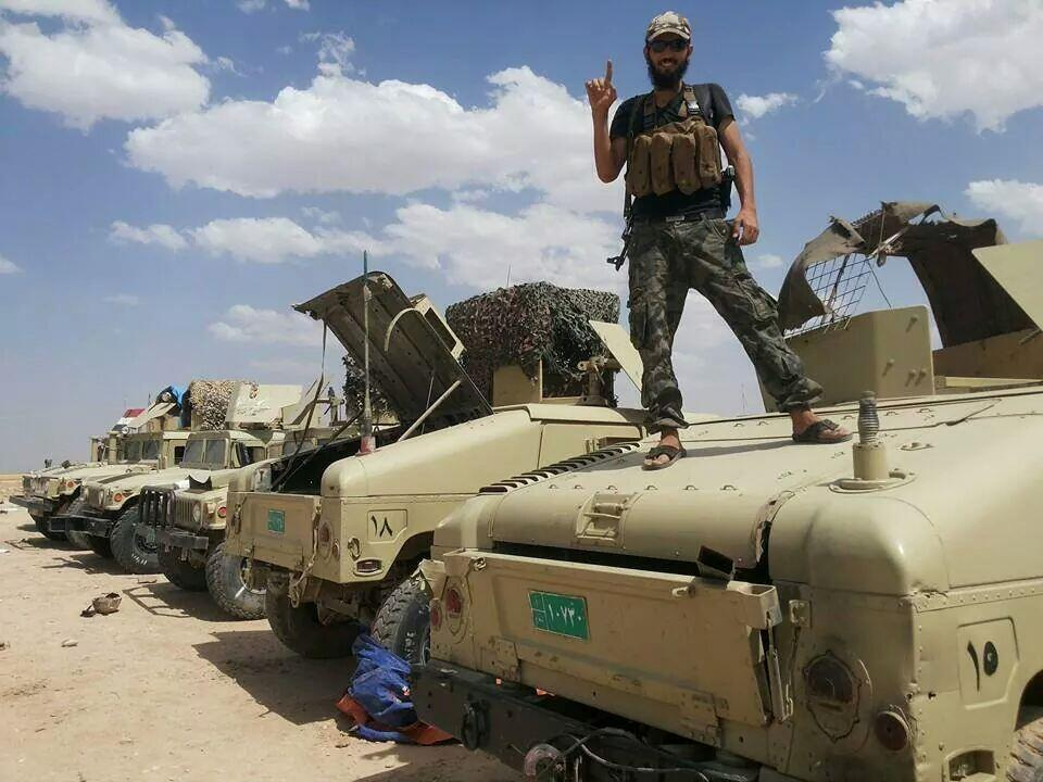 ISIS fighter in Mosul, via @vijayprashad
