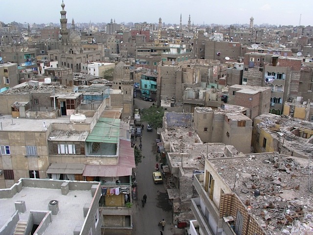 One view from Bab Zuweila