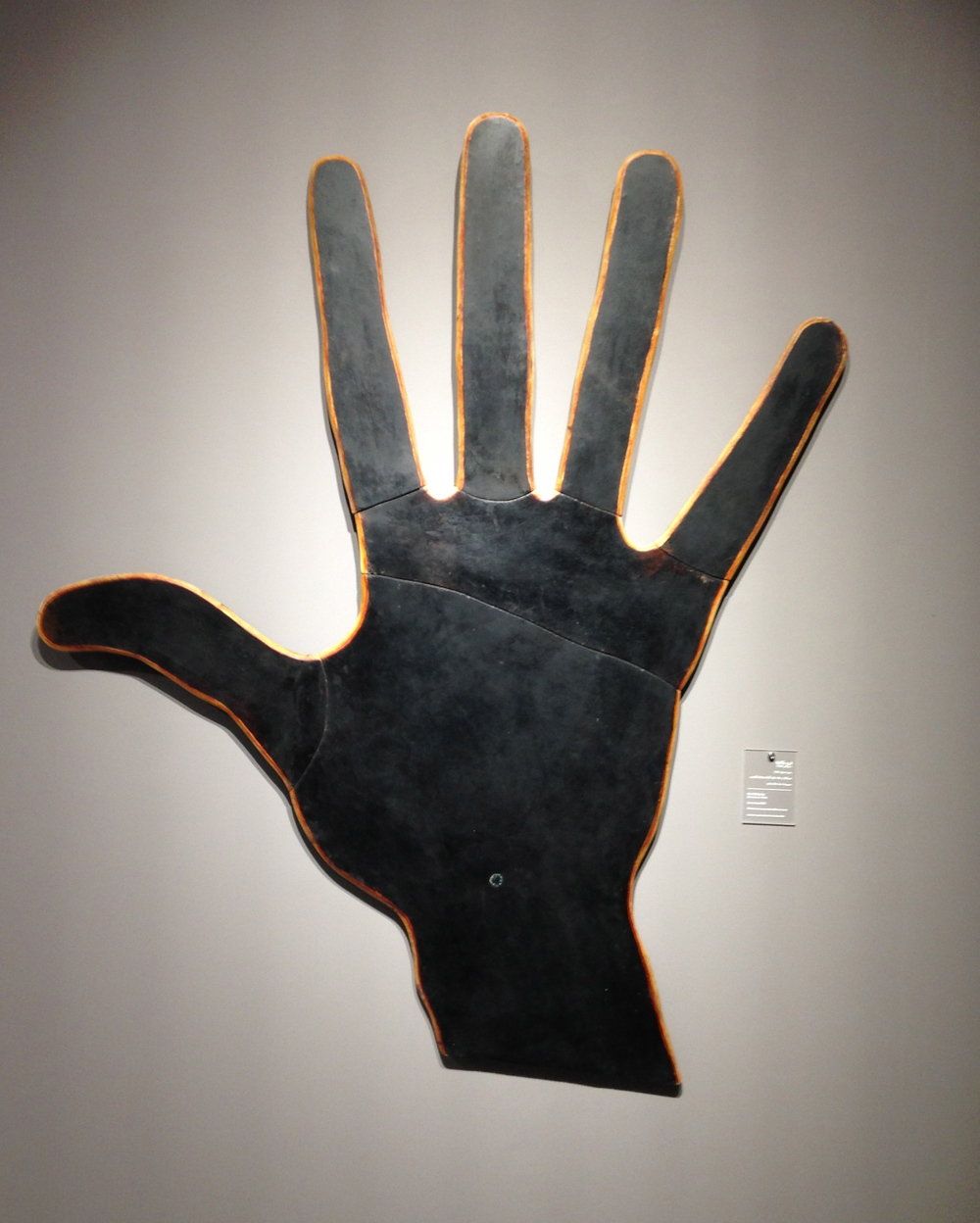 one of belkahia's iconic hands