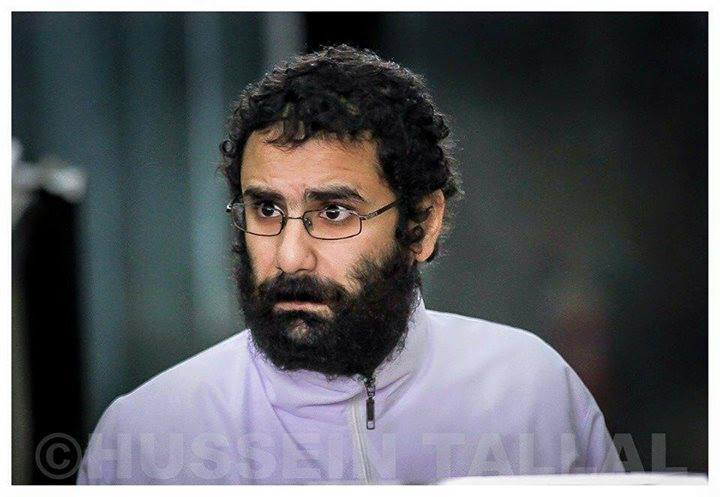 imprisoned and on trial activist Alaa Abdel Fattah reached 100 days on hunger strike