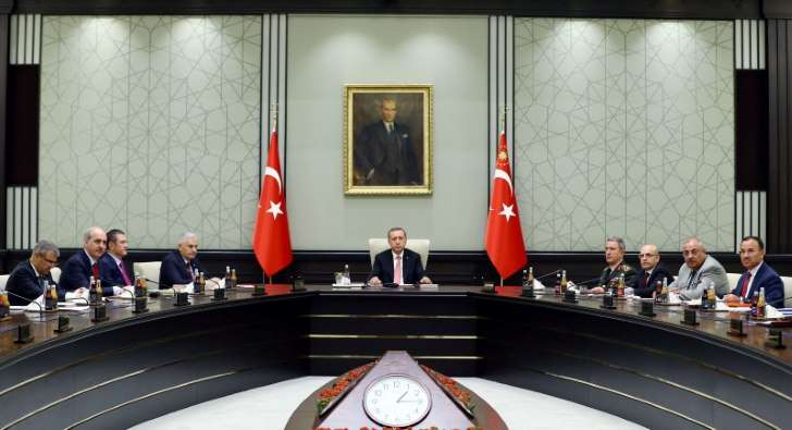 Erdogan and the Turkish National Security Council