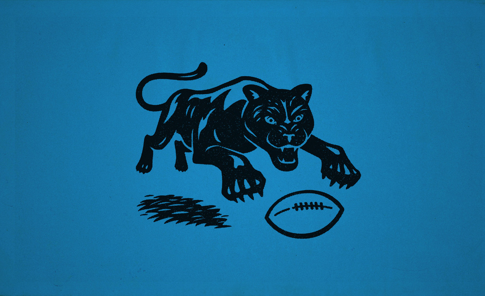 The original mascot design