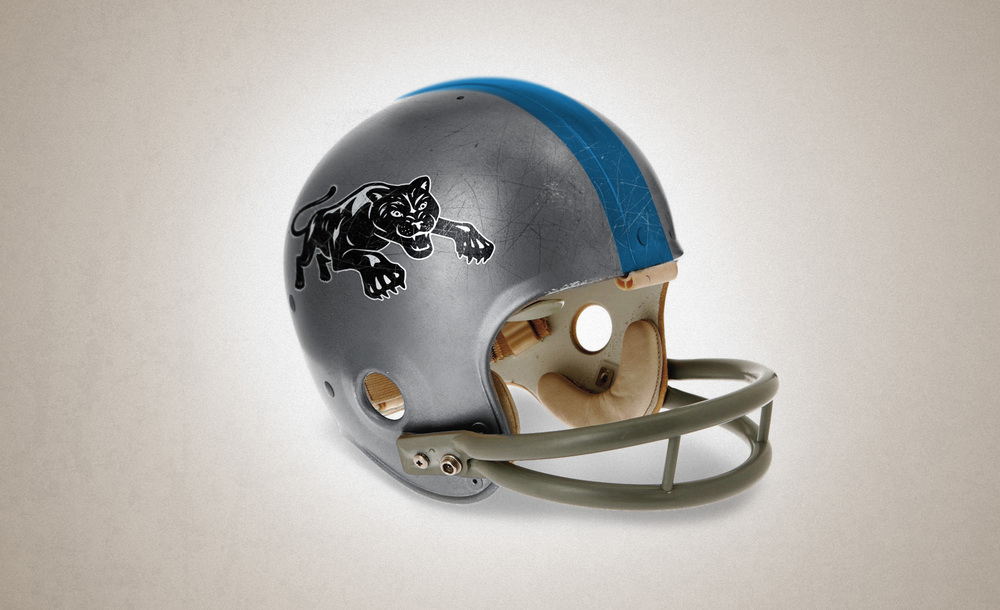 First helmet redesign utilizing mascot