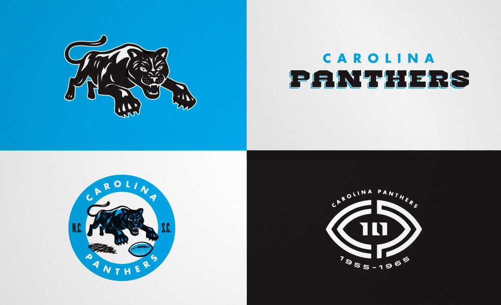 As the NFL evolved, teams developed more cohesive brand systems. First official team type treatment.