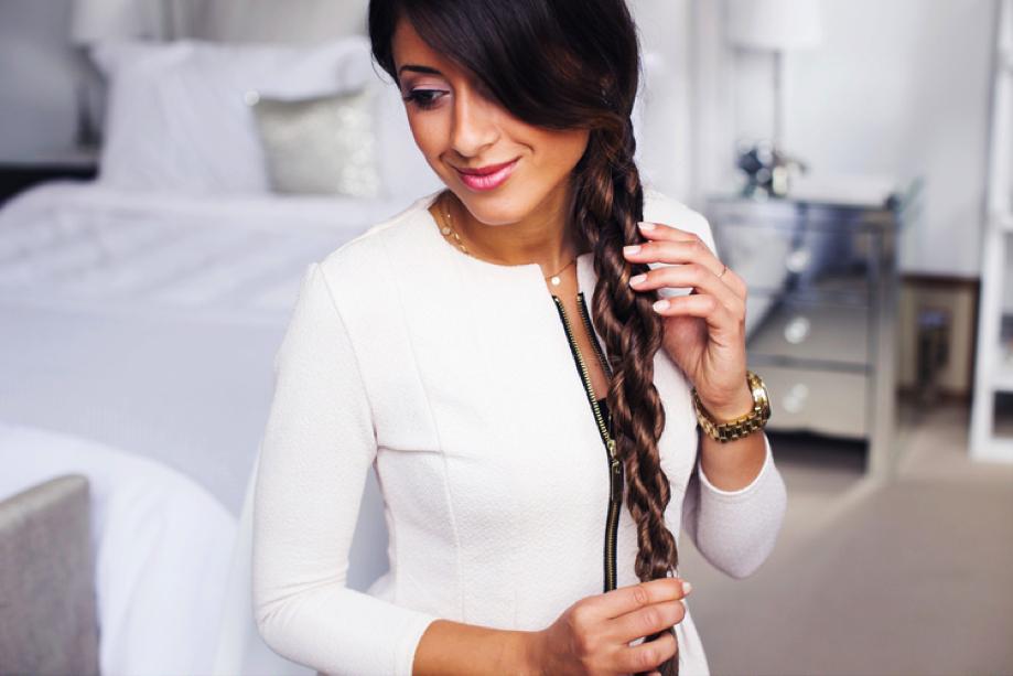 7.The Chain Braid - (Via Luxy Hair Blog)