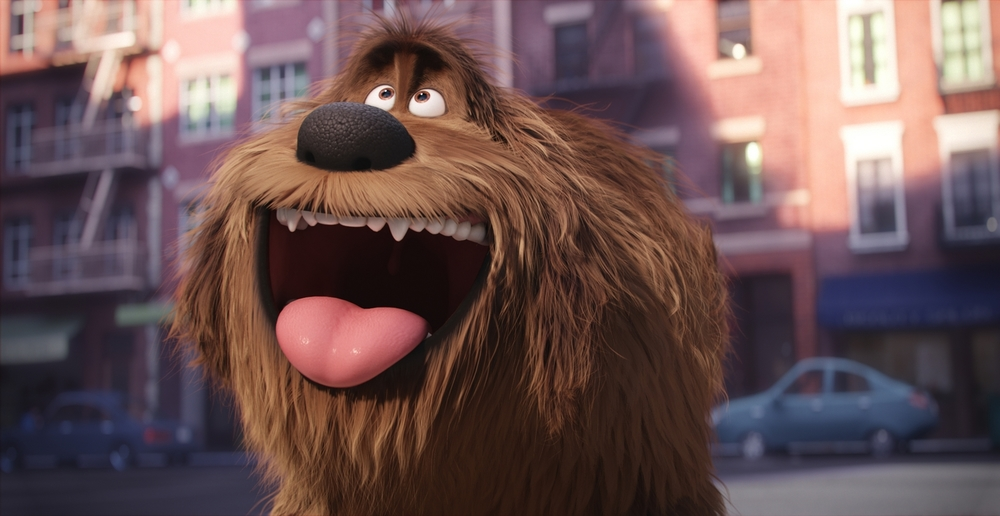 "Duke (ERIC STONESTREET) is a giant, fluffy, unruly rescue in Illumination Entertainment and Universal Pictures� ""The Secret Life of Pets,"" a comedy about the lives our pets lead after we leave for work or school each day."
