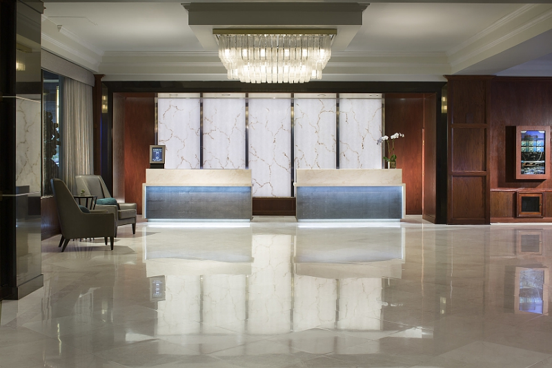 Miami Marriott Dadeland Hotel Lobby