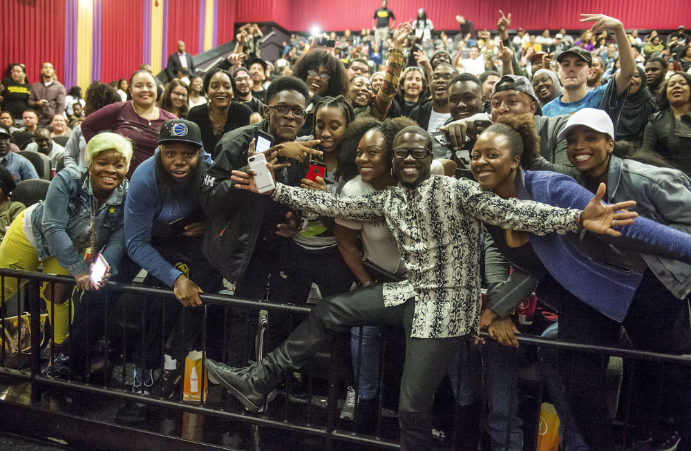 "KEVIN HART attends special fan screening of Universal Pictures' ""Kevin Hart: What Now? in Washington, D.C."""