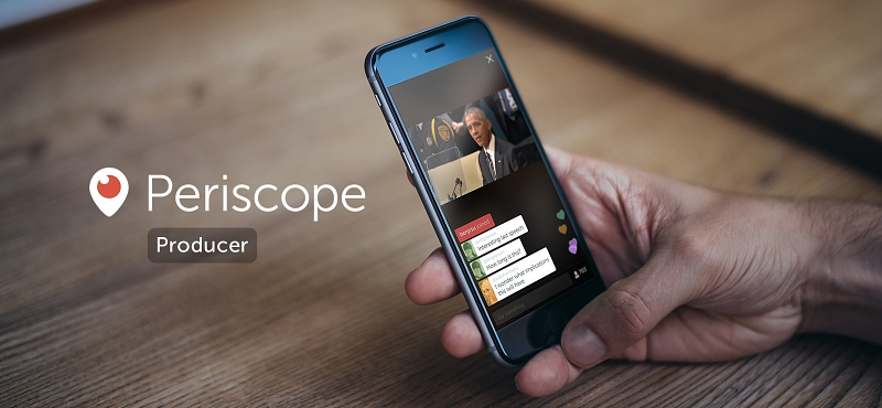 Twitter Announces Periscope Producer