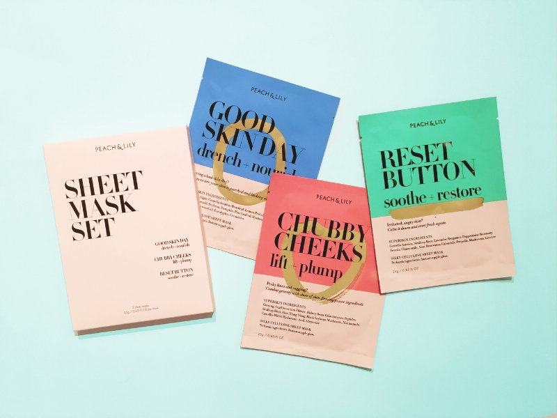 Peach and Lily - Sheet Mask Collection