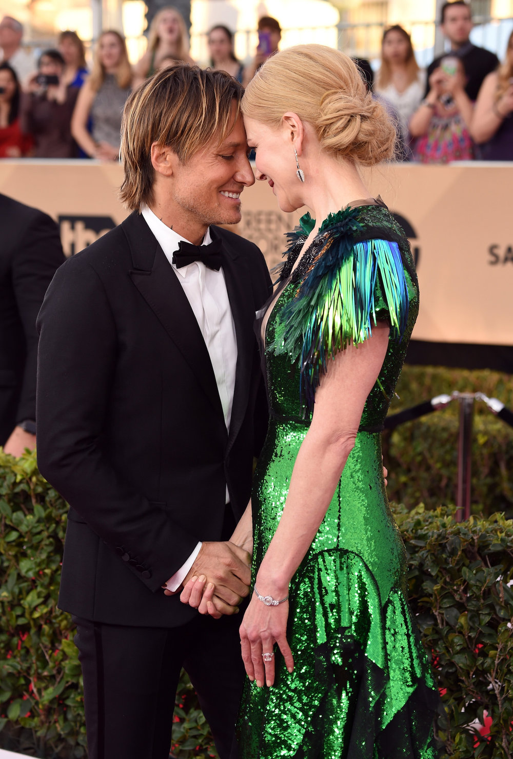 LOS ANGELES, CA - JANUARY 29:  Recording arrtist Keith Urban (L) and actor Nicole Kidman attends The 23rd Annual Screen Actors Guild Awards at The Shrine Auditorium on January 29, 2017 in Los Angeles, California. 26592_008  (Photo by Frazer Harrison/Getty Images) *** Local Caption *** Keith Urban;Nicole Kidman