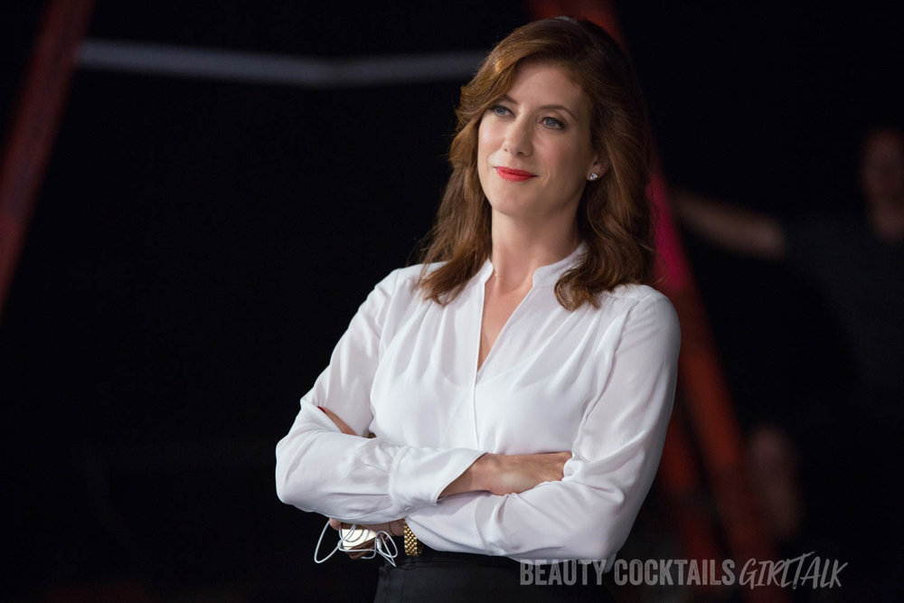 "Elizabeth (KATE WALSH) in ""Girls Trip.""  When four lifelong friends—Dina (TIFFANY HADDISH), Lisa (JADA PINKETT SMITH), Ryan (REGINA HALL) and Sasha (QUEEN LATIFAH)—travel to New Orleans for the annual ""Essence"" Festival, sisterhoods are rekindled, wild sides are rediscovered, and there's enough dancing, drinking, brawling and romancing to make the Big Easy blush."