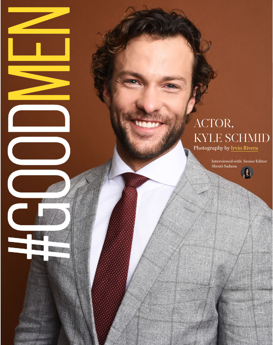 'goodmen' - Actor Kyle Schmid of the hit show 'SIX' on the HISTORY Channel.