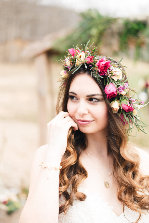 beautiful florals by Flourish Root -