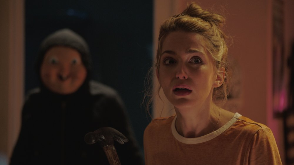 "Blumhouse (""Split,"" ""Get Out,"" ""Whiplash"") produces an original and inventive rewinding thriller in ""Happy Death Day,"" in which a college student (JESSICA ROTHE, ""La La Land"") relives the day of her murder with both its unexceptional details and terrifying end until she discovers her killer's identity."