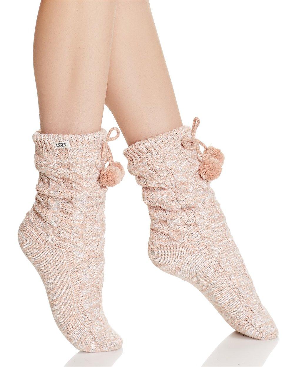 Pom-Pom Fleece Lined Socks - UGG