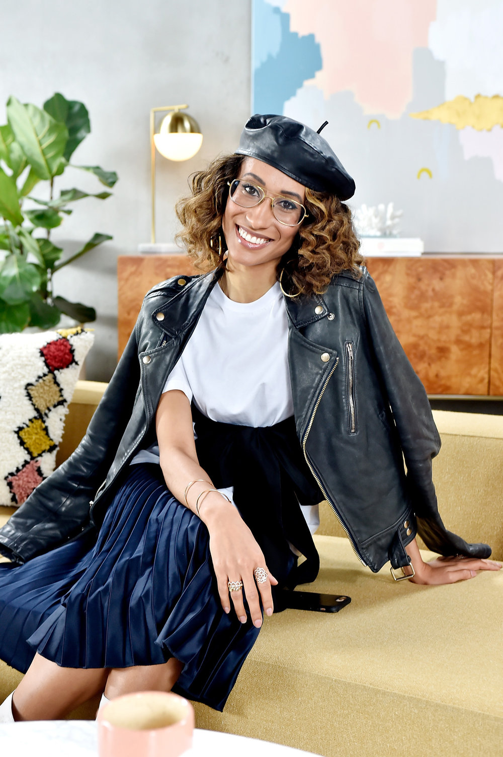 Elaine Welteroth, award-winning journalist and former editor-in-chief of Teen Vogue -