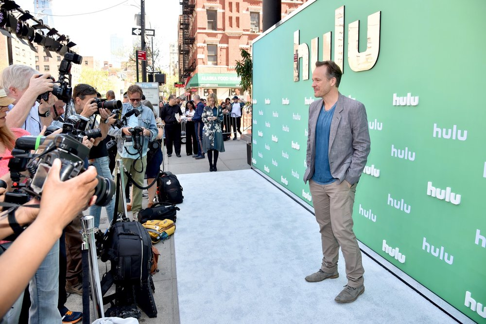 NEW YORK, NY - MAY 02:  Peter Sarsgaard attends the Hulu Upfront 2018 Brunch at La Sirena on May 2, 2018 in New York City.  (Photo by Bryan Bedder/Getty Images for Hulu) *** Local Caption *** Peter Sarsgaard