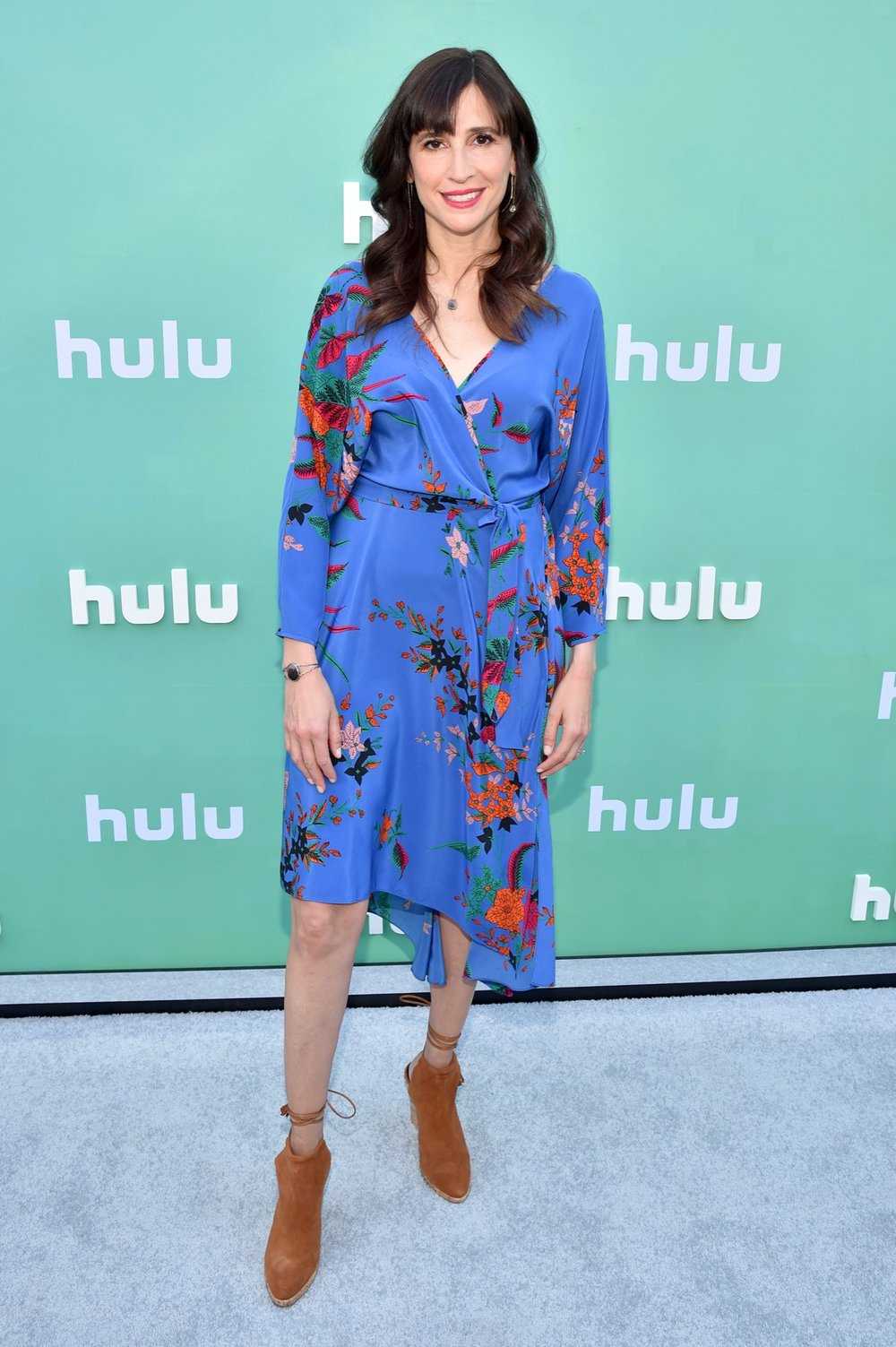 NEW YORK, NY - MAY 02:  Michaela Watkins attends the Hulu Upfront 2018 Brunch at La Sirena on May 2, 2018 in New York City.  (Photo by Bryan Bedder/Getty Images for Hulu) *** Local Caption *** Michaela Watkins