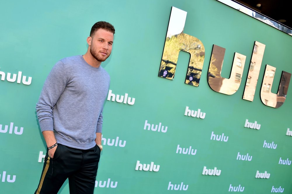 NEW YORK, NY - MAY 02:  Blake Griffin attends the Hulu Upfront 2018 Brunch at La Sirena on May 2, 2018 in New York City.  (Photo by Bryan Bedder/Getty Images for Hulu) *** Local Caption *** Blake Griffin