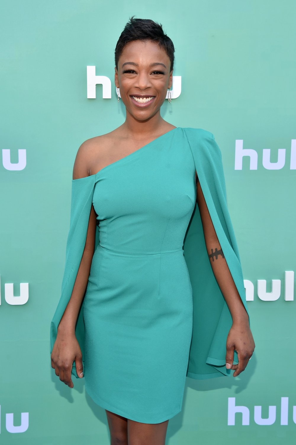 NEW YORK, NY - MAY 02:  Samira Wiley attends the Hulu Upfront 2018 Brunch at La Sirena on May 2, 2018 in New York City.  (Photo by Bryan Bedder/Getty Images for Hulu) *** Local Caption *** Samira Wiley