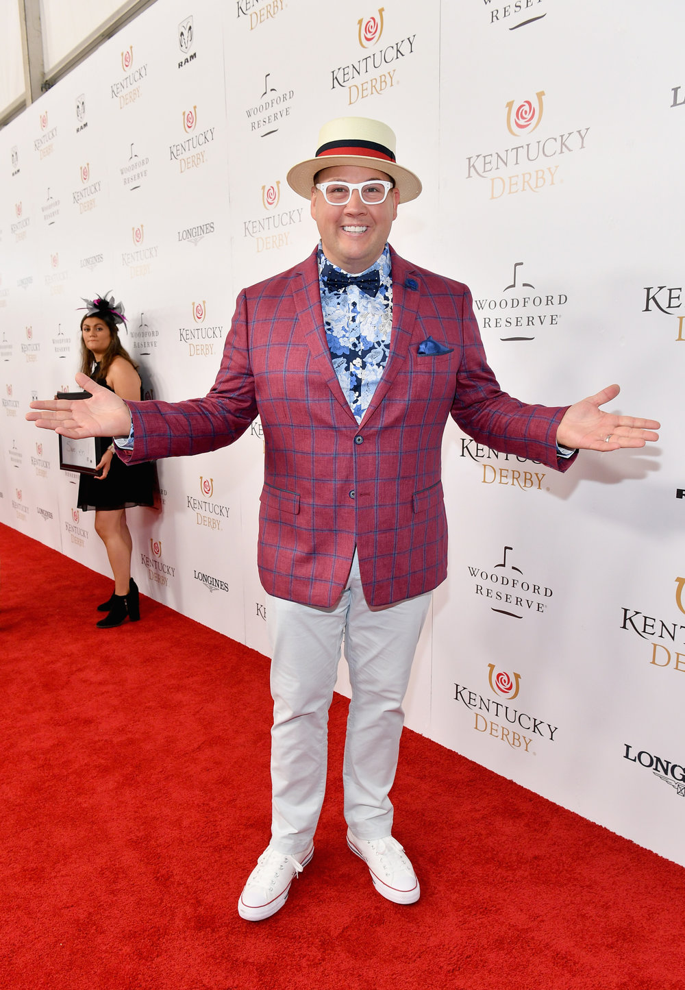 LOUISVILLE, KY - MAY 05:  Chef Graham Elliot attends Kentucky Derby 144 on May 5, 2018 in Louisville, Kentucky.  (Photo by Dia Dipasupil/Getty Images for Chruchill Downs) *** Local Caption *** Graham Elliot