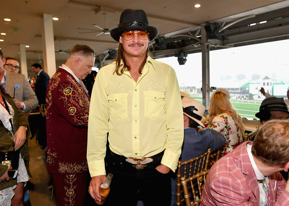 LOUISVILLE, KY - MAY 05: Kid Rock attends Kentucky Derby 144 on May 5, 2018 in Louisville, Kentucky.  (Photo by Dia Dipasupil/Getty Images for Chruchill Downs) *** Local Caption *** Kid Rock