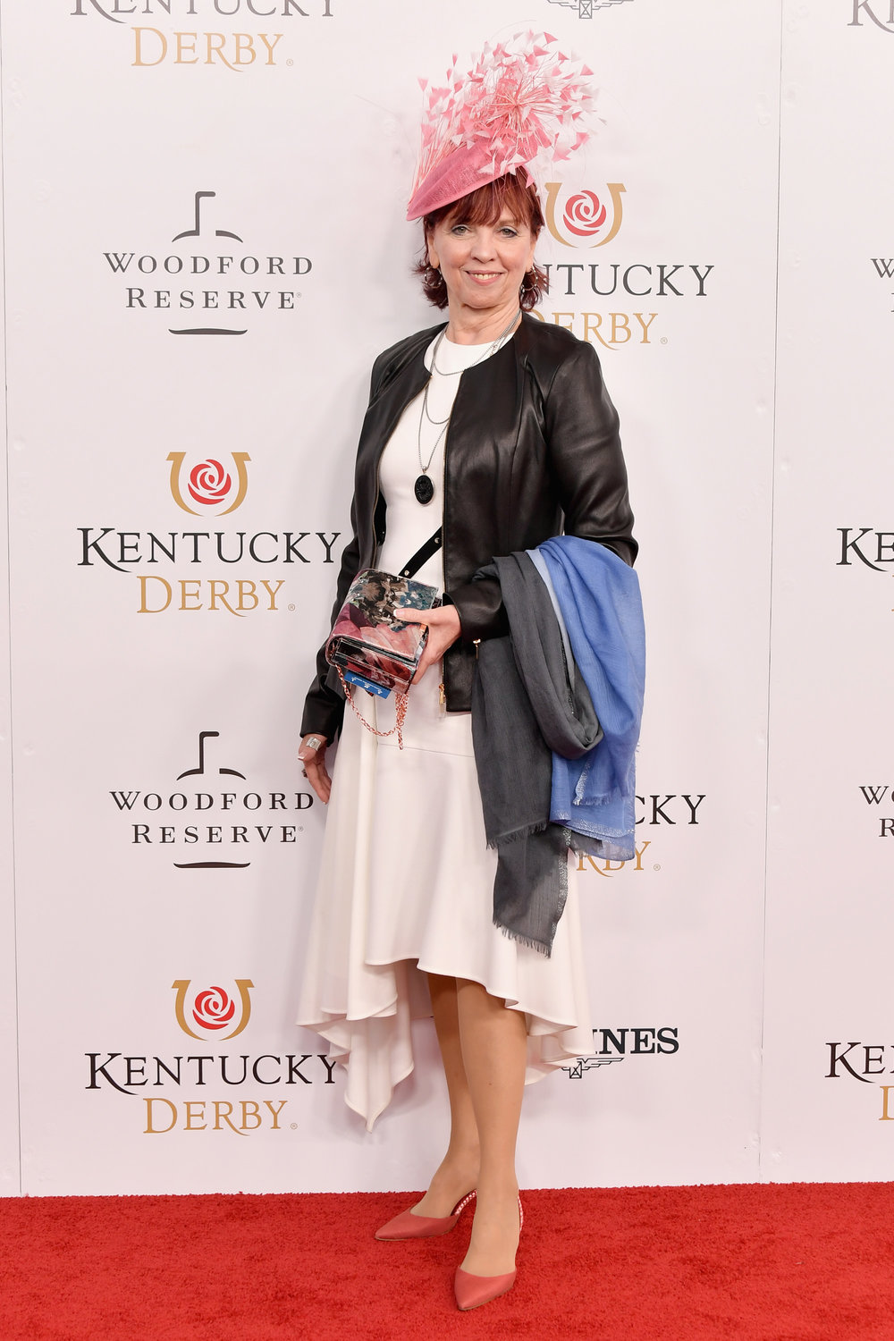 LOUISVILLE, KY - MAY 05:  Author Nora Roberts attends Kentucky Derby 144 on May 5, 2018 in Louisville, Kentucky.  (Photo by Michael Loccisano/Getty Images for Churchill Downs) *** Local Caption *** Nora Roberts