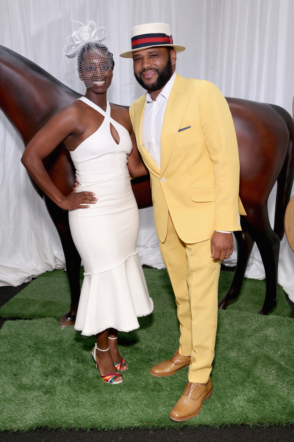 LOUISVILLE, KY - MAY 05:  Actor Anthony Anderson attends Kentucky Derby 144 on May 5, 2018 in Louisville, Kentucky.  (Photo by Robin Marchant/Getty Images for Churchill Downs) *** Local Caption *** Anthony Anderson