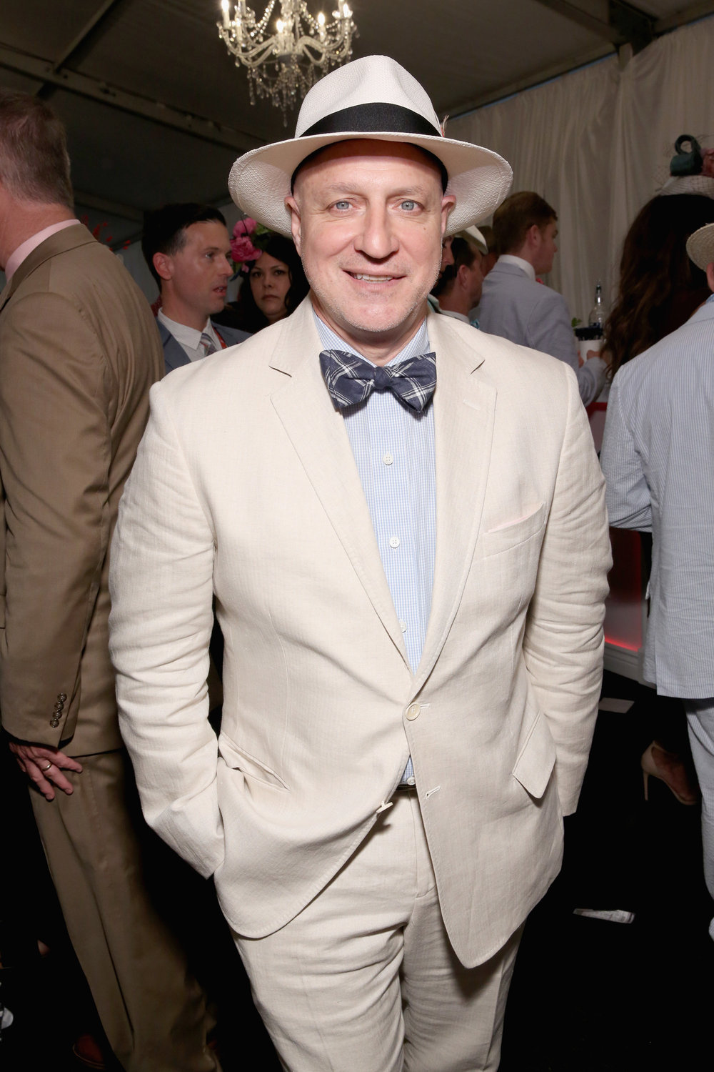 LOUISVILLE, KY - MAY 05:  Chef Tom Colicchio attends Kentucky Derby 144 on May 5, 2018 in Louisville, Kentucky.  (Photo by Robin Marchant/Getty Images for Churchill Downs) *** Local Caption *** Tom Colicchio