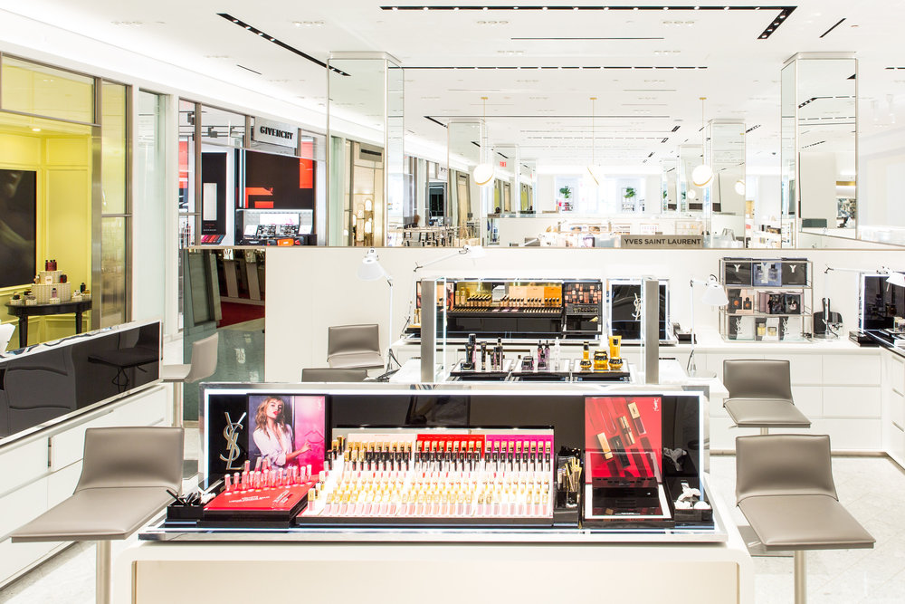 Saks Fifth Avenue Cosmetics counter