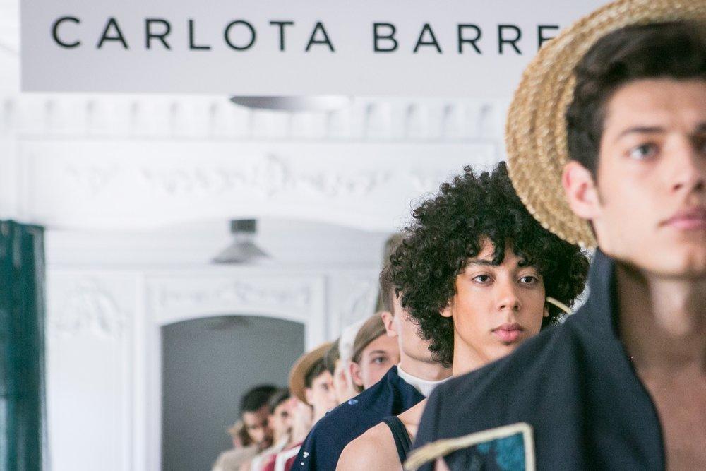 MADRID, SPAIN - JULY 12: Models walk the runway during Carlota Barrera show at Mercedes Benz Fashion Week Madrid Spring/ Summer 2019 on July 12, 2018 in Madrid, Spain. (Photo by Pablo Cuadra/Getty Images  For Carlota Barrera)