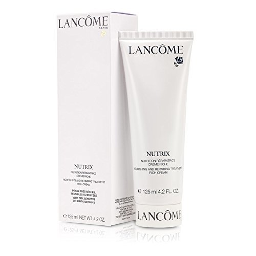 BEAUTY - Lancome Nutrix (cream). I carry it with me everywhere I go. It was initially formulated for burn victims which means it's super creamy and moisturizing. My kids won't even kiss me when I have it on because I just leave marks and oil stains on them. It literally is the most hydrating thing for my skin. I'm completely addicted to it (laughs).