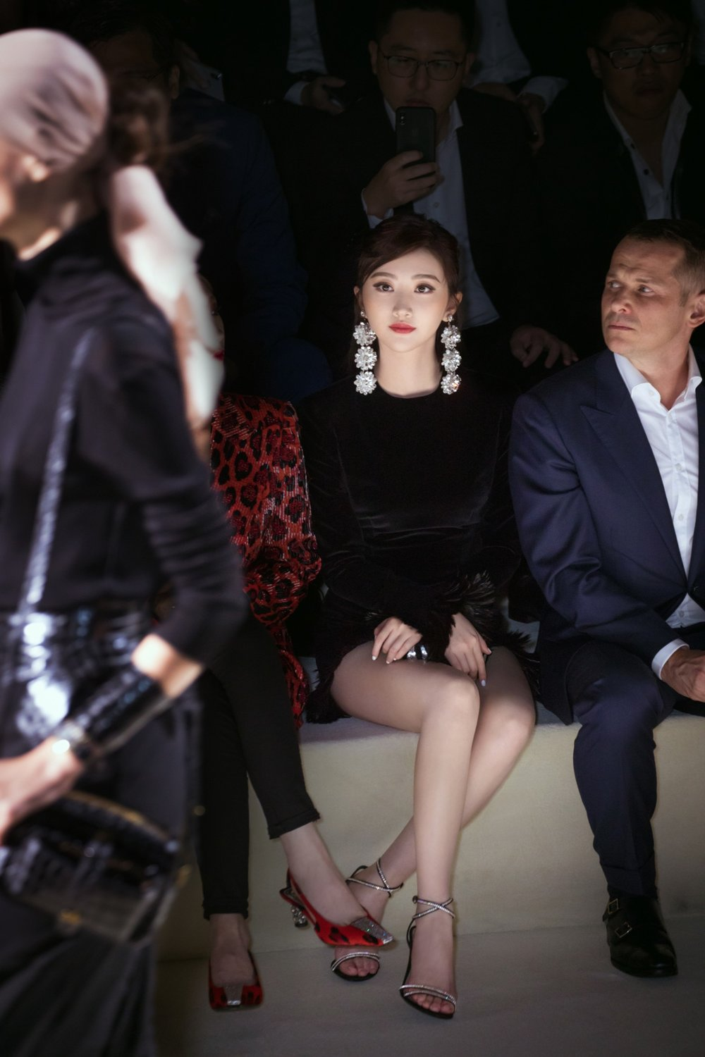 Jing Tian Front Row at Tom Ford.JPG