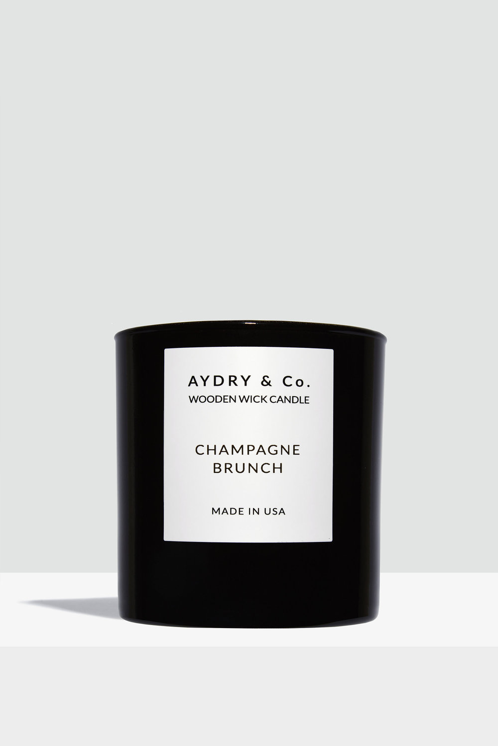 Champagne Brunch Wooden Wick Candle -