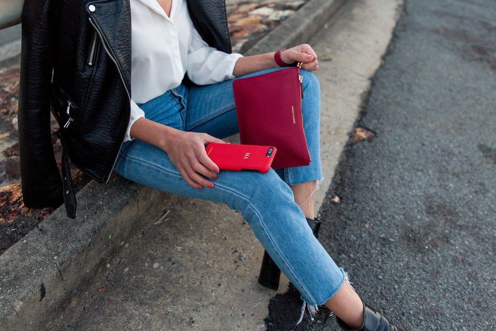 Pouch and Phone case