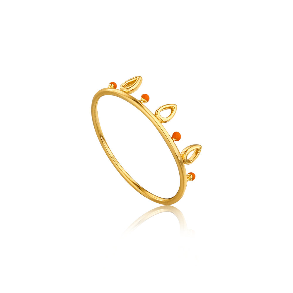 Ania Haie: Dotted Triple Raindrop Ring