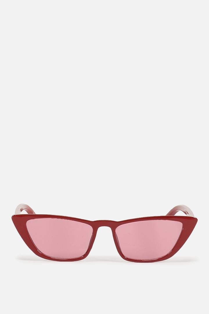 Rubi Vienna Short Frame Cat Eye Sunglasses Crystal