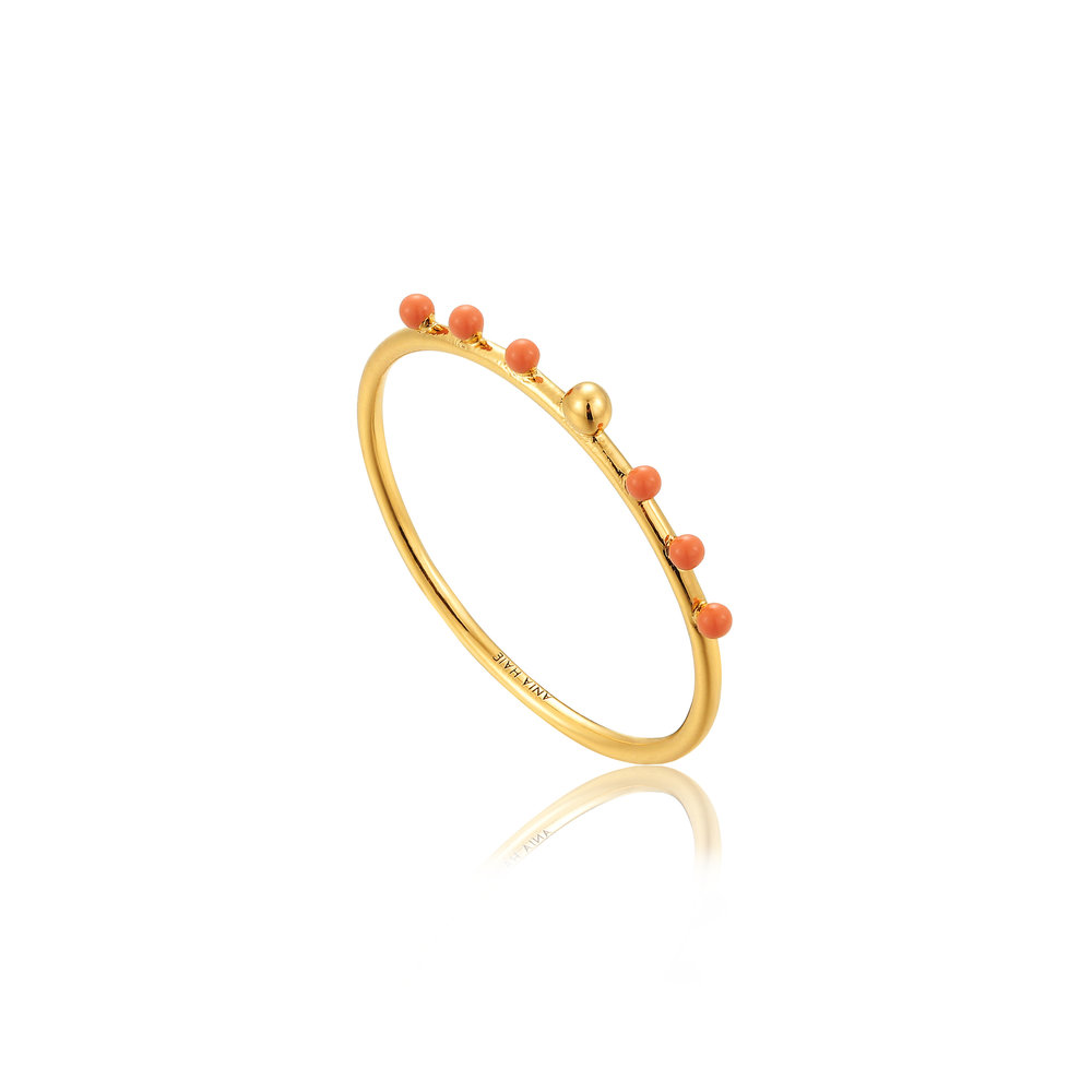 Ania Haie: Dotted Small Ball Ring