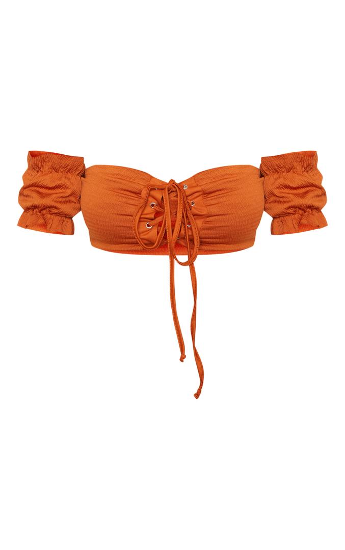 Pretty Little Things: Rust Bikini Top 3
