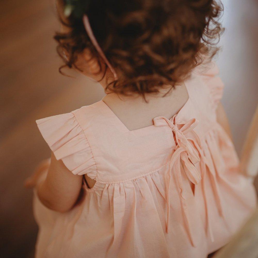 Aubrie: Aubrie Mummys helper top voile ballet pink BV web