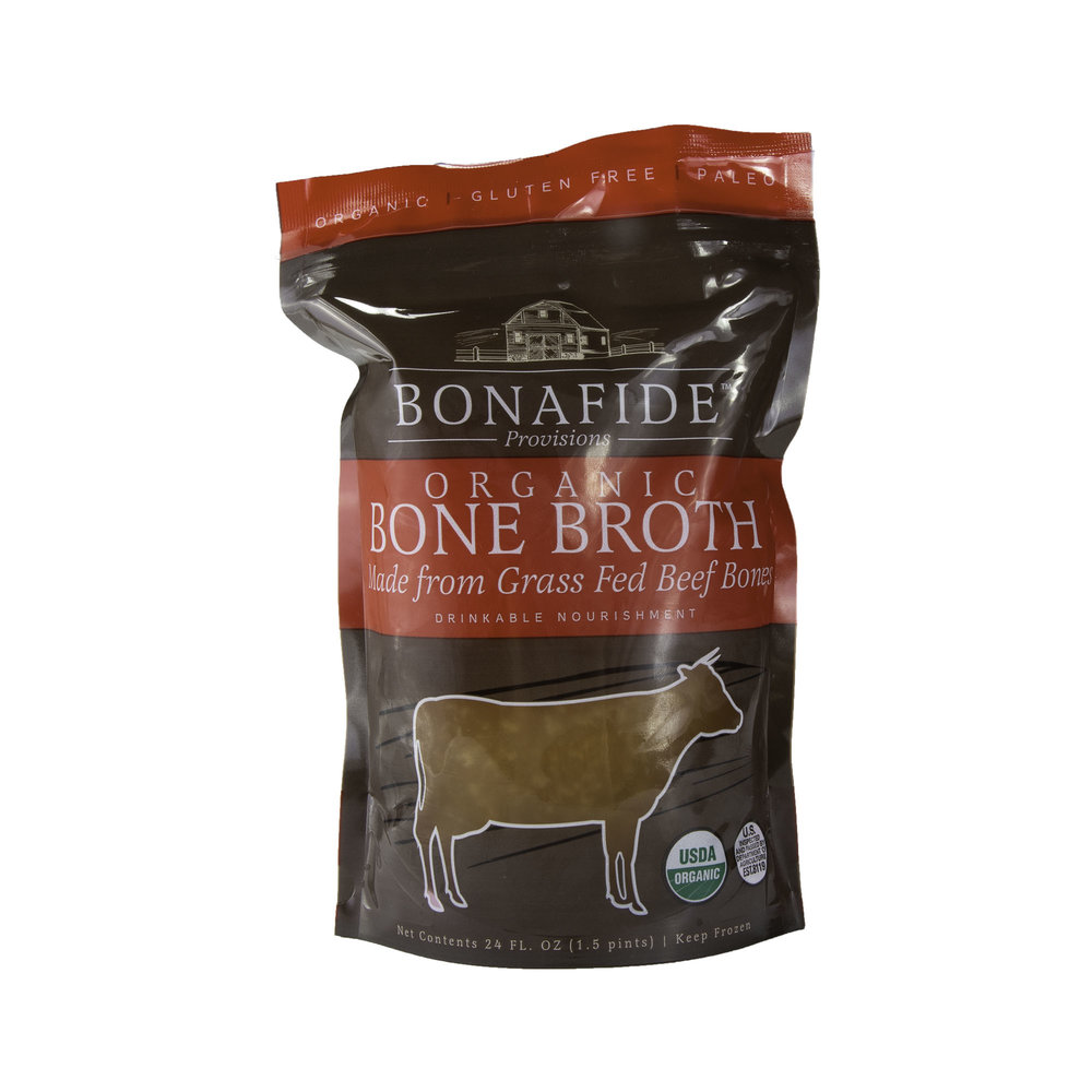 - Collagen and bone broth are more natural than ever Scoop by healthy scoop; collagen has gained mainstream interest over the past year as everyone adds it to their smoothies, and lattes in the quest for glowing skin, healthy joints, and gut healing.
