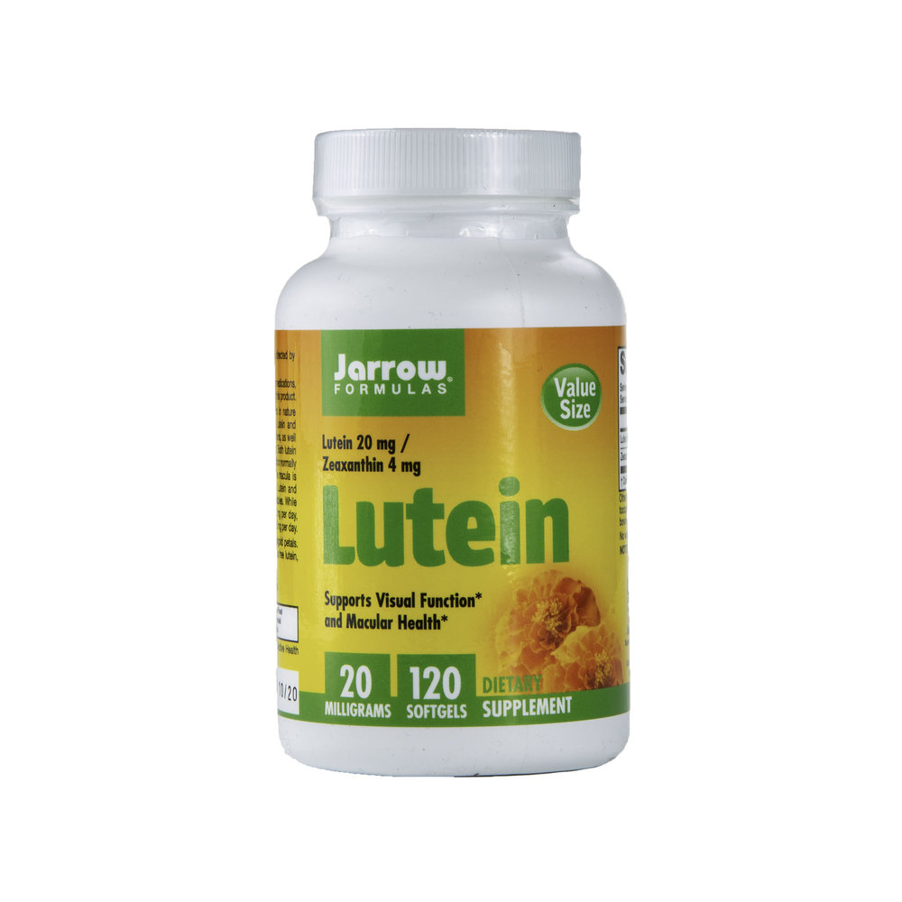 - Lutein reigns supreme over blue light Blue light—from our smartphones, tablets, computers, TVs and even light bulbs—has become ever-present, and a growing body of research is showing that all of this blue-light exposure can damage the retina of the eye and can lead to age-related macular degeneration1 (i.e., the leading cause of blindness in older adults).