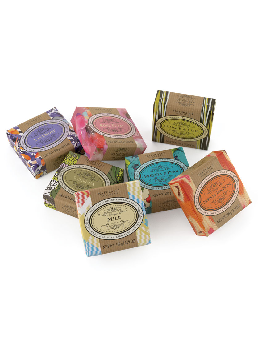 Soap Bar - Triple Milled soap ensures the most exquisite quality bar in hand-wrapped designs.