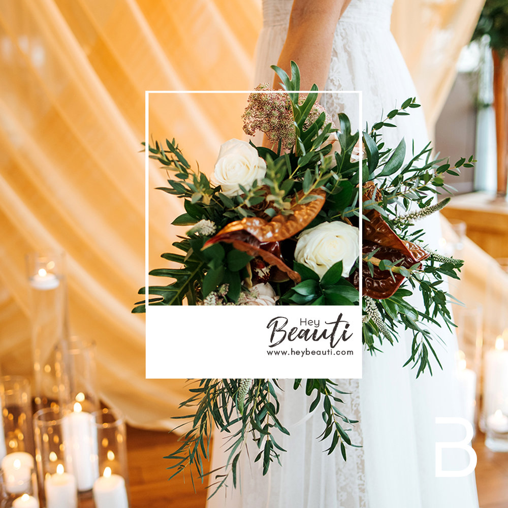 - Ample greens, mixed metals, a candlelit ceremony, a 'best dog,' and a real couple entirely in love, this styled shoot was to showcase how stunning greenery can be as a focus instead of an accent (and to show that winter weddings can be stunning as well)! - TEM Photography