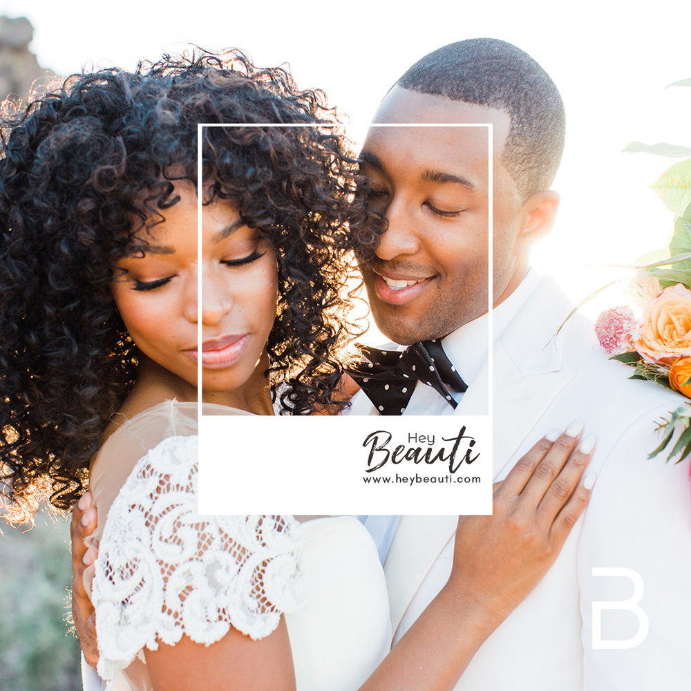- A beautiful sunset in the small desert elopement. What's better than beautiful bright colors to match the magical evening, not mention stunning details! There couldn't have been a more beautiful couple with a sunset to match. -Photographer Solie Designs