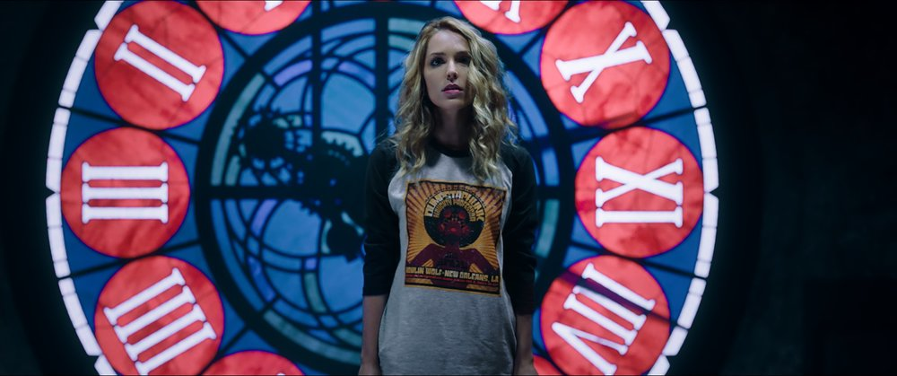 "Jessica Rothe as Tree Gelbman in ""Happy Death Day 2U,"" written and directed by Christopher Landon."