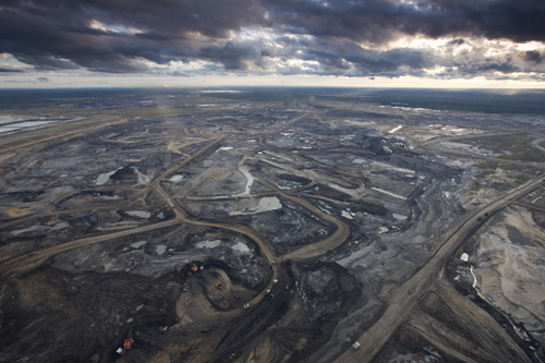 Alberta Tar Sands by Edward Burtynsky