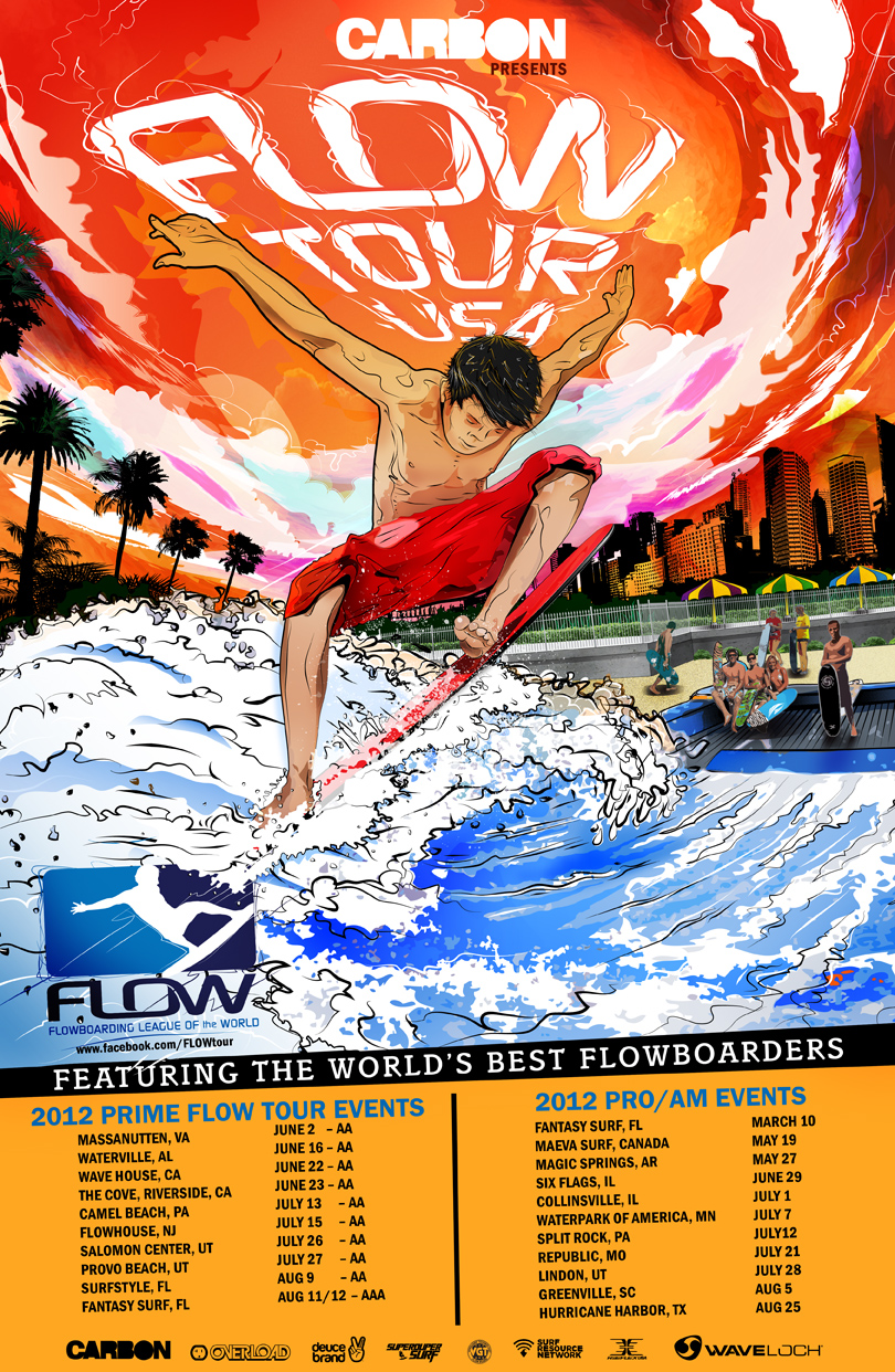 2012 Carbon FLOW Tour USA