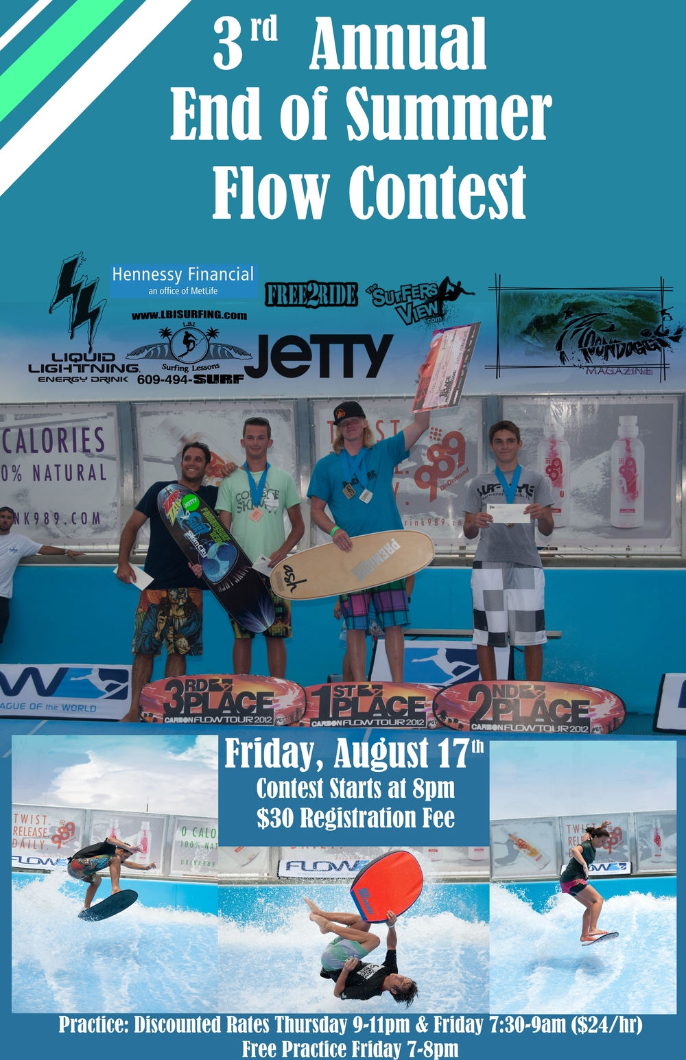 3rd Annual End of Summer Flow Contest